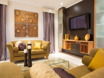 Gold living room idea from a real Australian home - Living Area photo 8973989