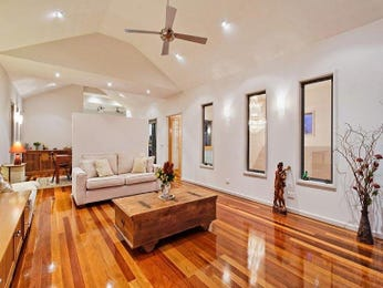 Brown living room idea from a real Australian home - Living Area photo 945264