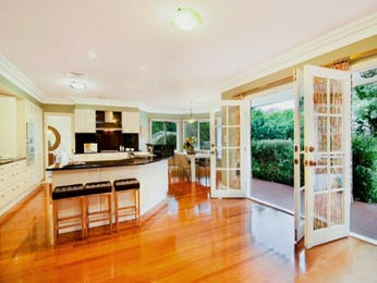 Floorboards in a kitchen design from an Australian home - Kitchen Photo 957074