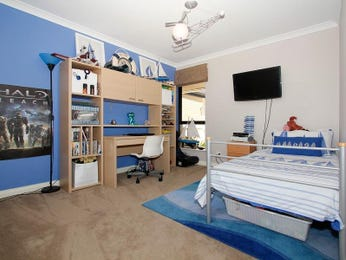 Blue bedroom design idea from a real Australian home - Bedroom photo 1062635