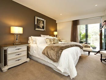 Brown bedroom design idea from a real Australian home - Bedroom photo 7946889