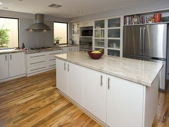 L shaped kitchen designs with granite and island bench - L shaped bench for kitchen ...