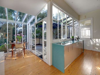 Floorboards in a kitchen design from an Australian home - Kitchen Photo 1406126
