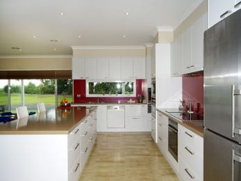 Down lighting in a kitchen design from an Australian home - Kitchen Photo 1570321