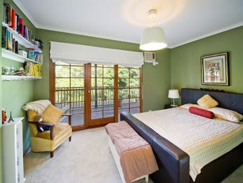 Green bedroom design idea from a real Australian home - Bedroom photo 1065363