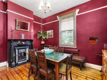 Purple dining room idea from a real Australian home - Dining Room photo 15677953