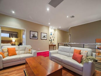 Grey living room idea from a real Australian home - Living Area photo 7009601