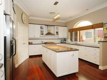 Modern kitchen-dining kitchen design using hardwood - Kitchen Photo 449408