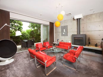 Red dining room idea from a real Australian home - Dining Room photo 8141937