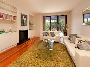 Black living room idea from a real Australian home - Living Area photo 551388