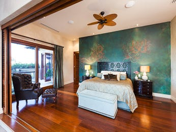Green bedroom design idea from a real Australian home - Bedroom photo 8193281