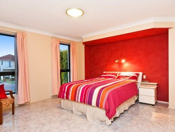 Red bedroom design idea from a real Australian home - Bedroom photo 805004