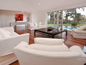 Brown living room idea from a real Australian home - Living Area photo 443401