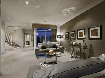 Grey living room idea from a real Australian home - Living Area photo 960653