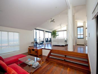 Brown living room idea from a real Australian home - Living Area photo 1017995