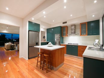 Floorboards in a kitchen design from an Australian home - Kitchen Photo 7296593