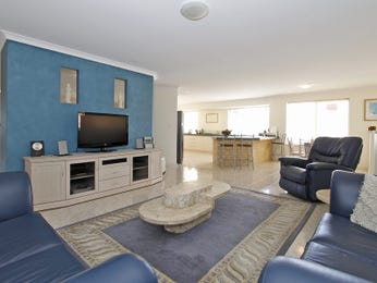 Blue living room idea from a real Australian home - Living Area photo 1574917