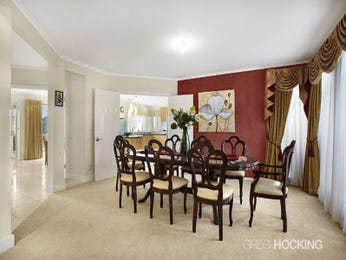 Red dining room idea from a real Australian home - Dining Room photo 6865677