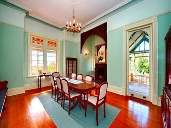 Blue dining room idea from a real Australian home - Dining Room photo 6980289