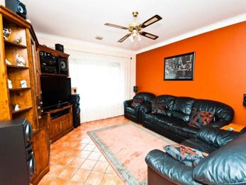 Orange living room idea from a real Australian home - Living Area photo 747198