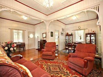 Red living room idea from a real Australian home - Living Area photo 784351