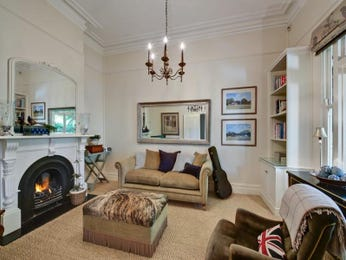 Brown living room idea from a real Australian home - Living Area photo 732598