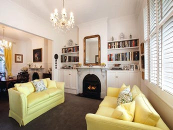 Cream living room idea from a real Australian home - Living Area photo 1202908