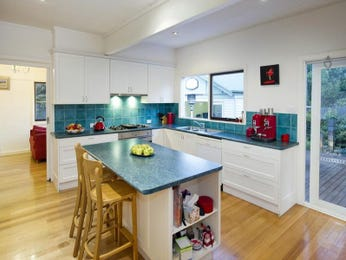 Floorboards in a kitchen design from an Australian home - Kitchen Photo 1125810