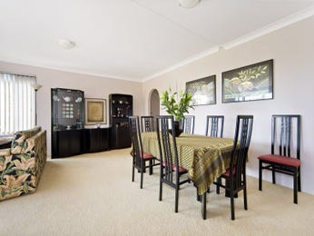 Formal dining room idea with carpet & bar/wine bar - Dining Room Photo 549448
