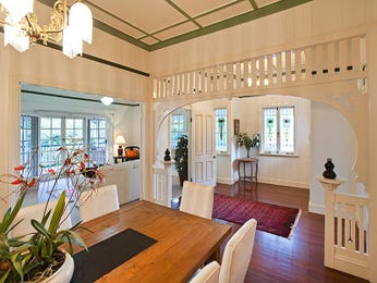 Brown dining room idea from a real Australian home - Dining Room photo 432514