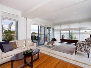 White living room idea from a real Australian home - Living Area photo 486259