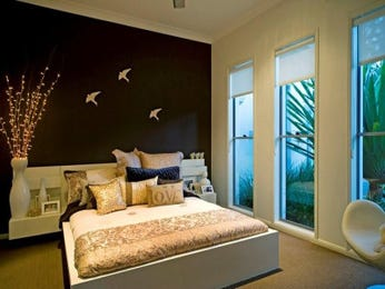 Brown bedroom design idea from a real Australian home - Bedroom photo 399459