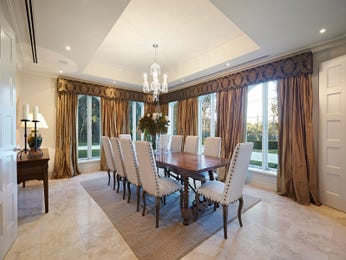 Brown dining room idea from a real Australian home - Dining Room photo 16128685