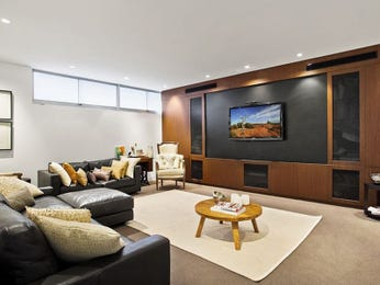 Black living room idea from a real Australian home - Living Area photo 7758393