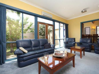 Yellow living room idea from a real Australian home - Living Area photo 625393