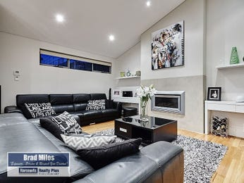 Black living room idea from a real Australian home - Living Area photo 16740533