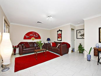 Red living room idea from a real Australian home - Living Area photo 1551692