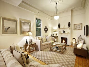 White living room idea from a real Australian home - Living Area photo 694782