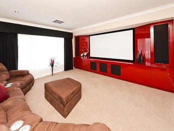Red living room idea from a real Australian home - Living Area photo 1188233