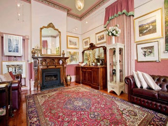 Pink living room idea from a real Australian home - Living Area photo 574746