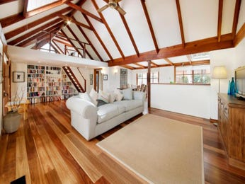 Brown living room idea from a real Australian home - Living Area photo 1007647