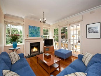 Blue living room idea from a real Australian home - Living Area photo 737189