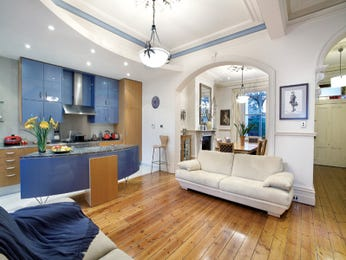 Blue living room idea from a real Australian home - Living Area photo 1267784