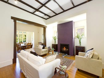 Purple living room idea from a real Australian home - Living Area photo 650252