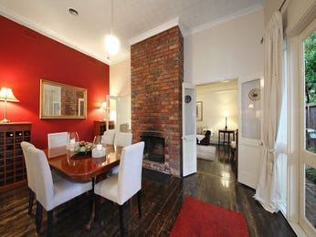 Red dining room idea from a real Australian home - Dining Room photo 16088421