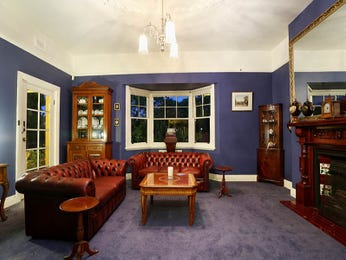 Blue living room idea from a real Australian home - Living Area photo 7576525