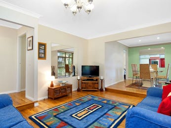 Blue living room idea from a real Australian home - Living Area photo 1255285