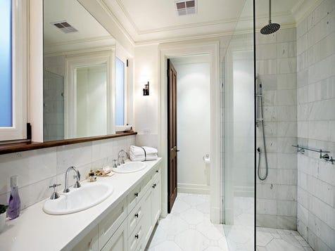 Toilet door off main ensuite