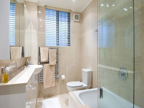 View the long narrow bathroom photo collection on home ideas for Long bathroom ideas