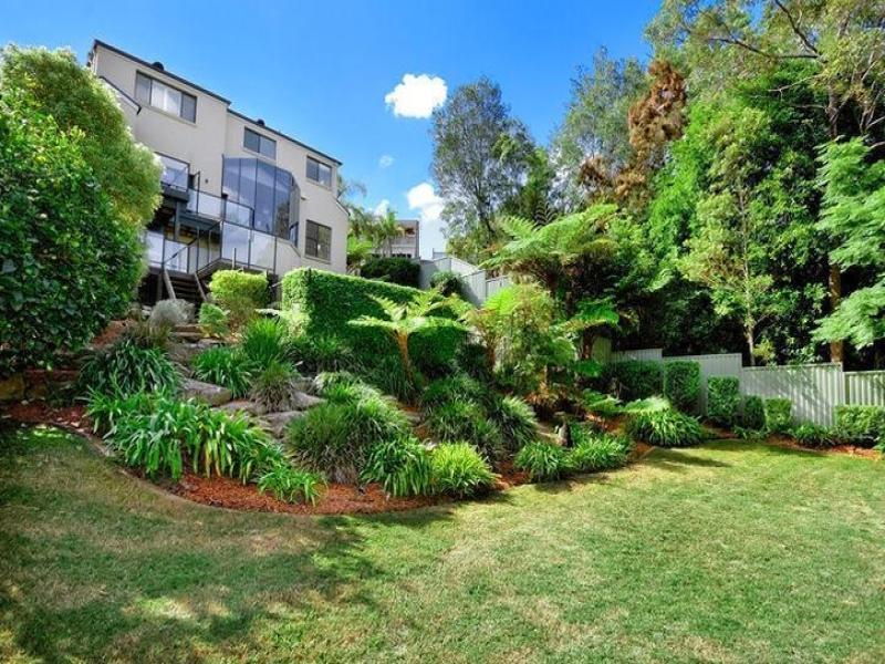 Photo of a landscaped garden design from a real australian for Garden ideas australia